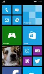 Microsoft Lumia 532 - E-mail - Account instellen (POP3 met SMTP-verificatie) - Stap 1