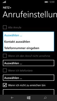 Microsoft Lumia 640 XL - Anrufe - Rufumleitungen setzen und löschen - Schritt 7