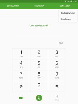 Samsung Galaxy Tab S2 9.7 (T815) - Voicemail - Handmatig instellen - Stap 5