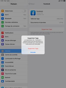 Apple iPad Mini 4 - ipados 13 - Applications - Comment désinstaller une application - Étape 7