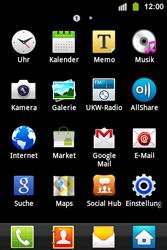 Samsung S5830i Galaxy Ace i - E-Mail - Konto einrichten - Schritt 3