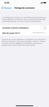 Apple iPhone XR - iOS 14 - WiFi - Comment activer un point d'accès WiFi - Étape 4