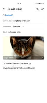 Huawei P40 Pro - E-mails - Envoyer un e-mail - Étape 15