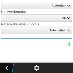 BlackBerry Q5 - Netzwerk - Netzwerkeinstellungen ändern - 8 / 8