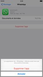 Apple iPhone 6 Plus - iOS 8 - Applications - Comment désinstaller une application - Étape 8