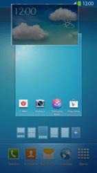 Samsung Galaxy S 4 LTE - Startanleitung - Installieren von Widgets und Apps auf der Startseite - Schritt 8