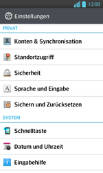 LG P710 Optimus L7 II - Fehlerbehebung - Handy zurücksetzen - Schritt 6