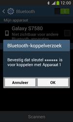 Samsung S7580 Galaxy Trend Plus - bluetooth - headset, carkit verbinding - stap 7