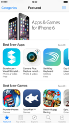 Apple iPhone 6 iOS 8 - Applications - installing applications - Step 5