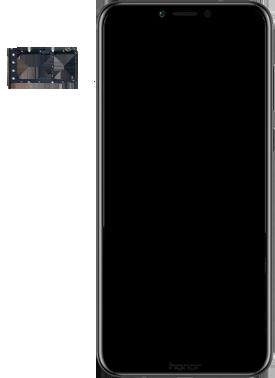 Huawei Honor Play - SIM-Karte - Einlegen - Schritt 4