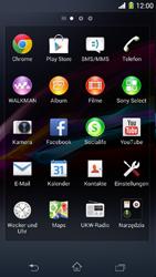 Sony Xperia Z1 Compact - Internet und Datenroaming - Verwenden des Internets - Schritt 3