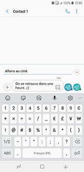 Samsung Galaxy A6 - Contact, Appels, SMS/MMS - Envoyer un MMS - Étape 13