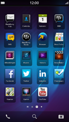 BlackBerry Z30 - Internet - hoe te internetten - Stap 1