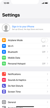 Apple iPhone XS - Data - Create a backup with your account - Step 3