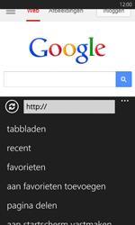 Nokia Lumia 625 - Internet - Hoe te internetten - Stap 11