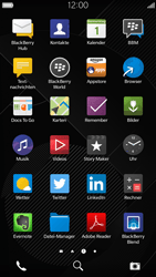 BlackBerry Leap - MMS - Manuelle Konfiguration - 2 / 2