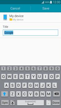 Samsung N910F Galaxy Note 4 - Internet - Internet browsing - Step 6