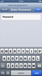 Apple iPhone 5 - WiFi - WiFi configuration - Step 6