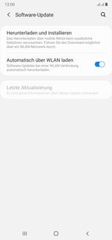 Samsung Galaxy Note 20 Ultra 5G - Software - Installieren von Software-Updates - Schritt 5