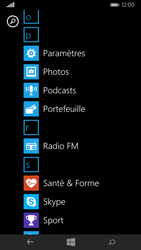 Nokia Lumia 735 - Internet et connexion - Accéder au réseau Wi-Fi - Étape 3