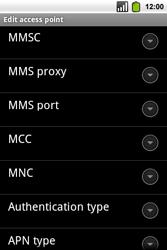 Alcatel OT-991 Smart - MMS - Manual configuration - Step 11