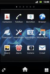Sony ST27i Xperia Go - Internet - hoe te internetten - Stap 2