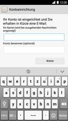 Huawei Ascend G6 - E-Mail - Konto einrichten - 1 / 1