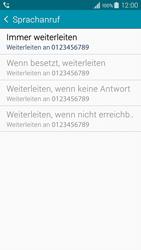 Samsung A300FU Galaxy A3 - Anrufe - Rufumleitungen setzen und löschen - Schritt 11