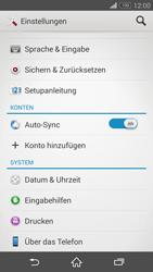 Sony Xperia Z3 Compact - Software - Installieren von Software-Updates - Schritt 5