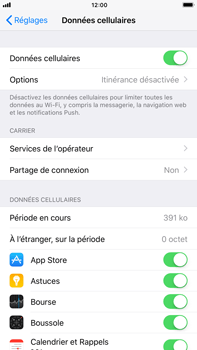 Apple iPhone 8 Plus - Internet - activer ou désactiver - Étape 4
