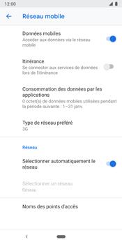 Google Pixel 3 - Internet et connexion - Activer la 4G - Étape 7