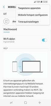 Samsung Galaxy S8 (G950) - WiFi - Mobiele hotspot instellen - Stap 9