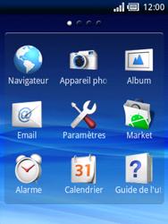 Sony Xperia X10 Mini - Internet - Navigation sur Internet - Étape 2