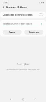 Samsung galaxy-a71-sm-a715f - Beveiliging en ouderlijk toezicht - Nummer blokkeren - Stap 7