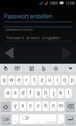 Huawei Y3 - Apps - Konto anlegen und einrichten - Schritt 9