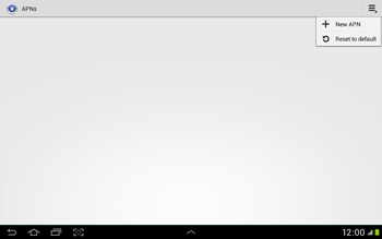 Samsung Galaxy Tab 2 10.1 - MMS - Manual configuration - Step 8