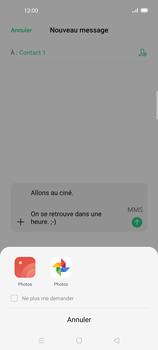 Oppo Find X2 Lite - Contact, Appels, SMS/MMS - Envoyer un MMS - Étape 15