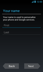 ZTE Blade III - Applications - Setting up the application store - Step 5