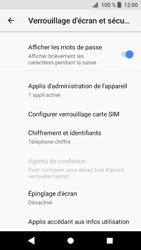 Sony Xperia XZ1 - Sécuriser votre mobile - Personnaliser le code PIN de votre carte SIM - Étape 5