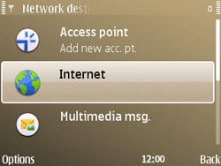 Nokia E72 - Internet - Manual configuration - Step 18