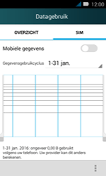 Huawei Y3 - internet - data uitzetten - stap 8