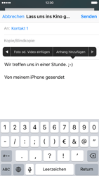 Apple iPhone 6s - E-Mail - E-Mail versenden - 0 / 0
