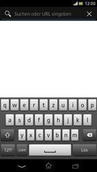 Sony Xperia V - Internet und Datenroaming - Verwenden des Internets - Schritt 5