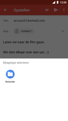 Nokia 5 - Android Oreo - E-mail - hoe te versturen - Stap 11