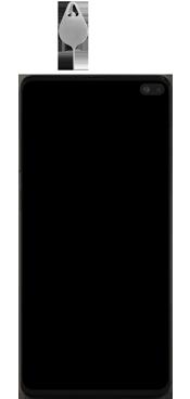 Samsung Galaxy S10 Plus - Premiers pas - Insérer la carte SIM - Étape 2