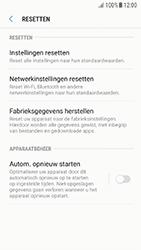 Samsung Galaxy A3 (2016) - Android Nougat - Instellingen aanpassen - Fabrieksinstellingen terugzetten - Stap 6