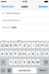 Apple iPhone 4 S - E-Mail - E-Mail versenden - 7 / 16