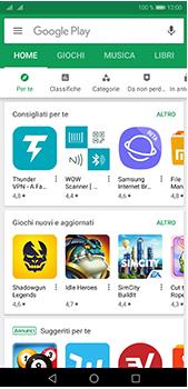 Huawei P20 Pro - Applicazioni - Come verificare la disponibilità di aggiornamenti per l