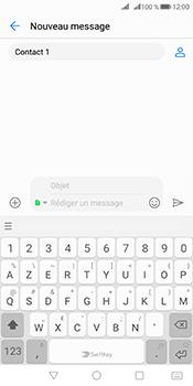 Huawei Mate 10 Pro - Contact, Appels, SMS/MMS - Envoyer un MMS - Étape 12