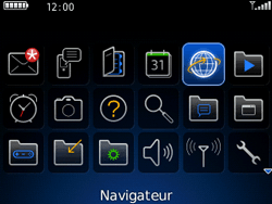 BlackBerry 8520 Curve - Internet - Navigation sur Internet - Étape 2
